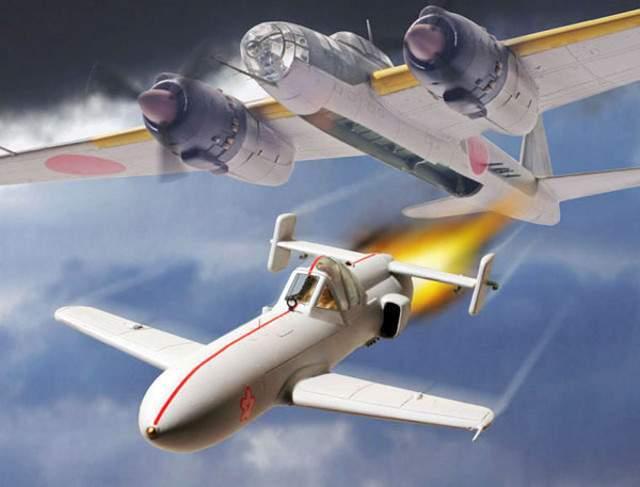 Самолёт камикадзе Йокосука MXY-7 Ока