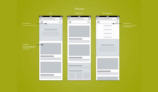 web-mobile-wireframe