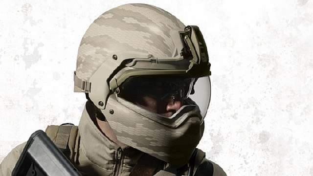 Современные защитные шлемы армии сша