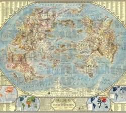 Американский художник создал прекрасную и невероятно детализированную карту Интернета