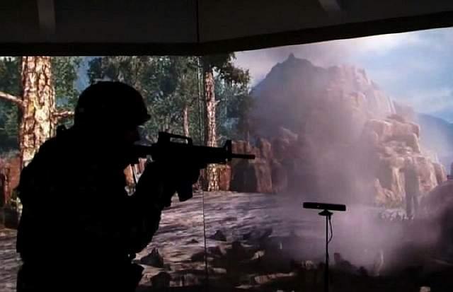 Новая система виртуальной реальности для тренировки солдат Армии США