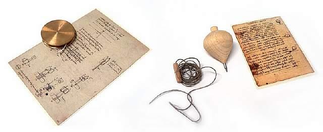 Игрушки, созданные по чертежам Леонардо да Винчи
