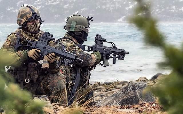 "NATO-Uebung ""COLD RESPONSE 2014"""