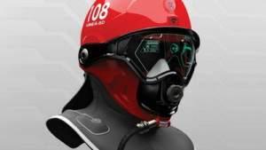 В Швеции разработан футуристический шлем пожарного 21 века
