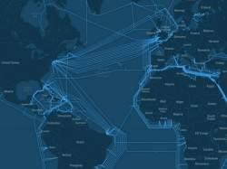 Лучшая визуализация мировой сети подводных интернет-магистралей