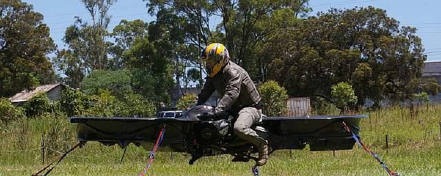 Новый летающий мотоцикл – «Drone 3» квадрокоптер
