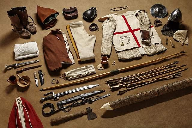 Fighting-Archer-Battle-of-Agincourt-1415