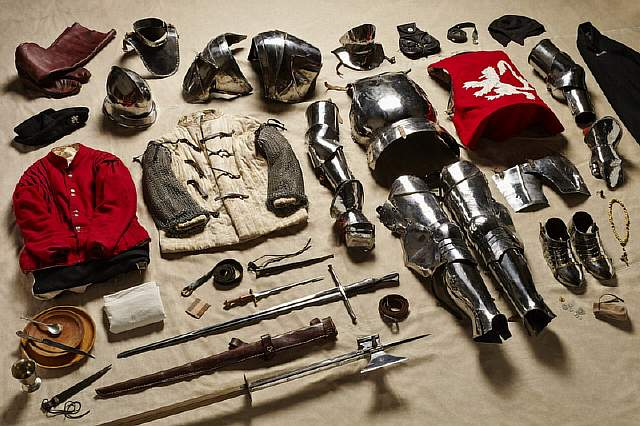 Yorkist-Man-at-Arms-Battle-of-Bosworth-1485