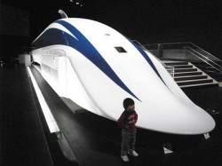 Япония строит самый быстрый поезд на нашей планете