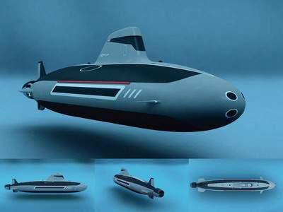 атомная подводная лодка катамаран