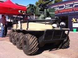 Автономная израильская платформа AMSTAF постепенно заменяет собой живых пограничников