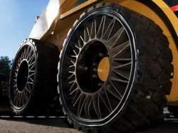 Встречайте Tweel от Michelin – шину, которая никогда не спустится