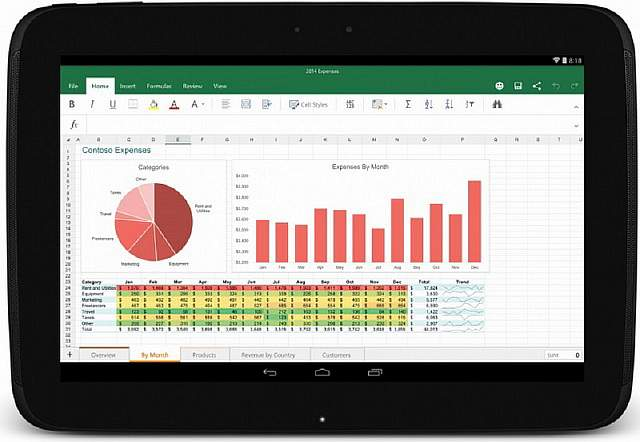 Office-on-Android-tablet