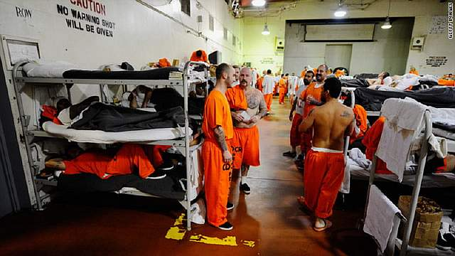 the issue of overcrowding prisons in the united states
