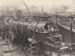 Редкие кадры из сердца немецкой подводной лодки времён Первой мировой войны