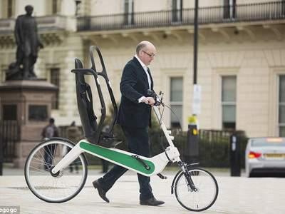 Британский инженер заявляет, что создал самый безопасный велосипед в мире