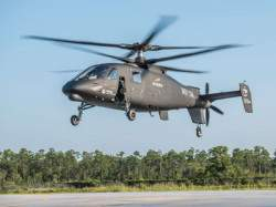 Новый сверхбыстрый вертолёт S-97 Raider от Sikorsky совершил свой первый полёт