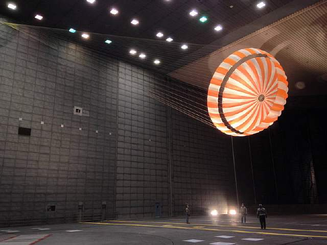 InSight parachute testing