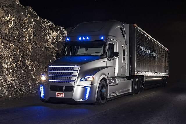Autonomous truck 3