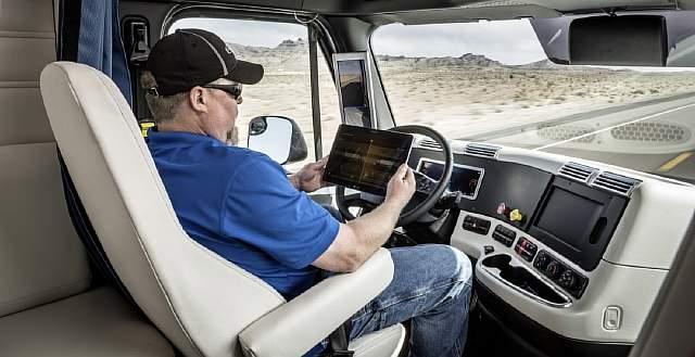 Autonomous truck 4
