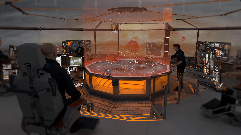 Британские учёные представили концепт боевого корабля будущего «Dreadnought 2050»