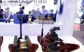 Китай создаёт боевых роботов, вооружённых пушками и гранатомётами