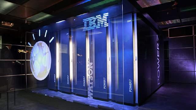 Подпись к изображению: Суперкомпьютер компании IBM «Watson»