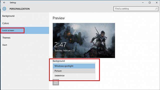 Полезная информация Windows Spotlight