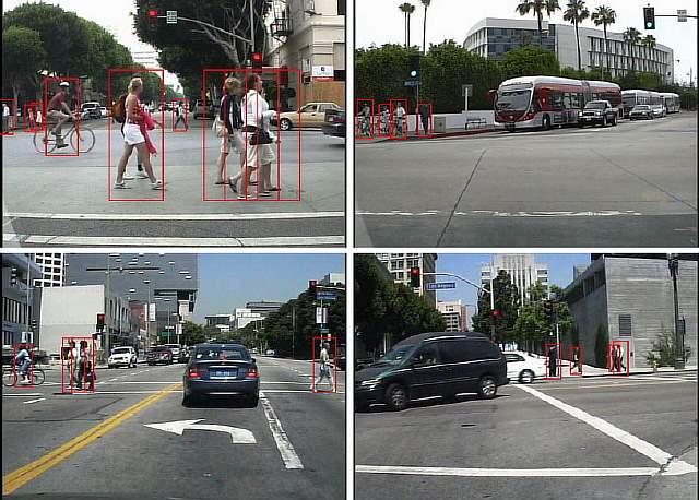 Новое устройство фиксирует наличие пешеходов в поле зрения подобно системе автофокусировки фотокамеры