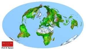 Исследование: Земля становится зеленее из-за повышения уровня углекислого газа
