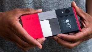 В 2017 году «Google» начинает продажу модульных смартфонов «Project Ara»
