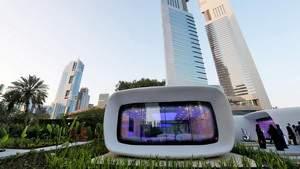 В Дубае открывается первый напечатанный на 3D-принтере офис