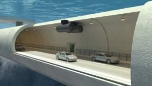 Норвегия намерена построить первые в мире плавучие подводные туннели