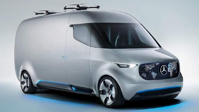 Benz представил фургон будущего Vision Van