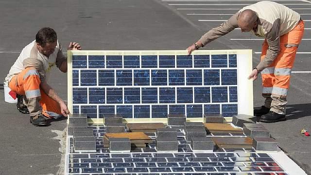 COLAS : Route solaire Wattway