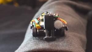 Миниатюрные роботы, перемещающиеся по телу человека, возможно, являются будущим носимой электроники
