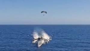 DARPA испытывает парасейлинг-радар в связке с автономным судном