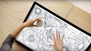 Surface Dial – физическое колесо прокрутки для цифровой живописи