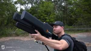 Противобеспилотное оружие может нейтрализовать беспилотники на расстоянии почти 2 километров