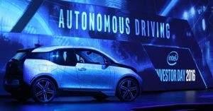 Каждый автономный автомобиль будет обрабатывать более 40 терабайт данных в сутки