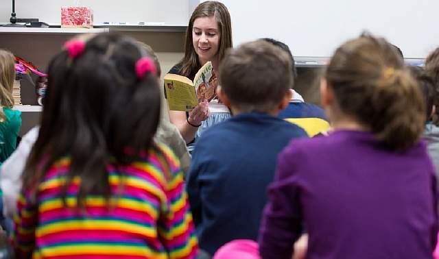 Students learn and teachers teach at Bennett Woods Elementary School in Okemos on Wednesday November 28, 2012
