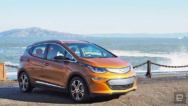 dims-30 GM начинает массовое производство самоуправляемых автомобилей Bolt EV