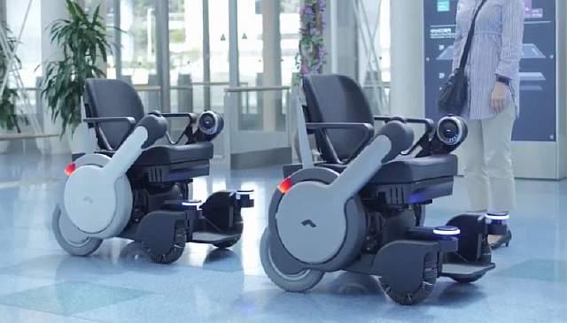 ВЯпонии испытывают умные инвалидные кресла