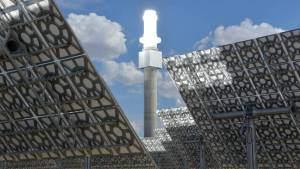 Может ли расплавленная соль производить солнечную энергию круглые сутки?