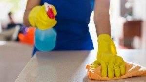 Применение антибактериальных салфеток и спреев для дезинфекции кухонных поверхностей совершенно неэффективно