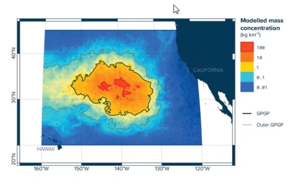 Дрейф «Тихоокеанского мусорного континента»: вокеане появилось огромное образование изотходов