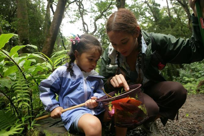 Проведённое на природе время способствует успехам в учебе детей
